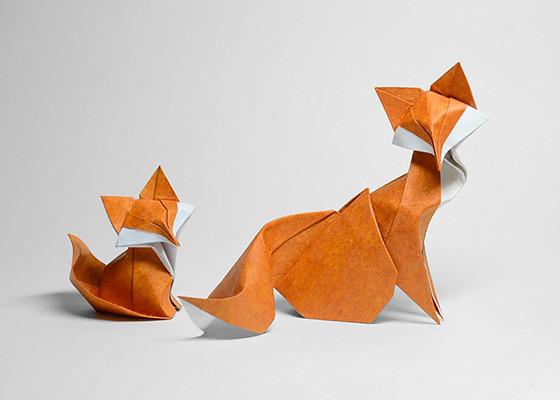 Bộ mô hình gấp giấy 3D các con vật siêu ngộ nghĩnh