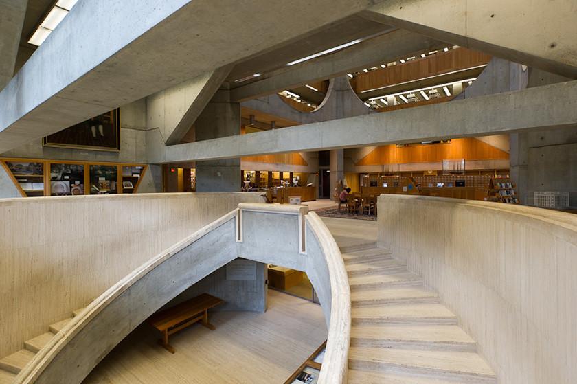 Thư viện đẹp nhất nước Mỹ, mới trông thì ghét...