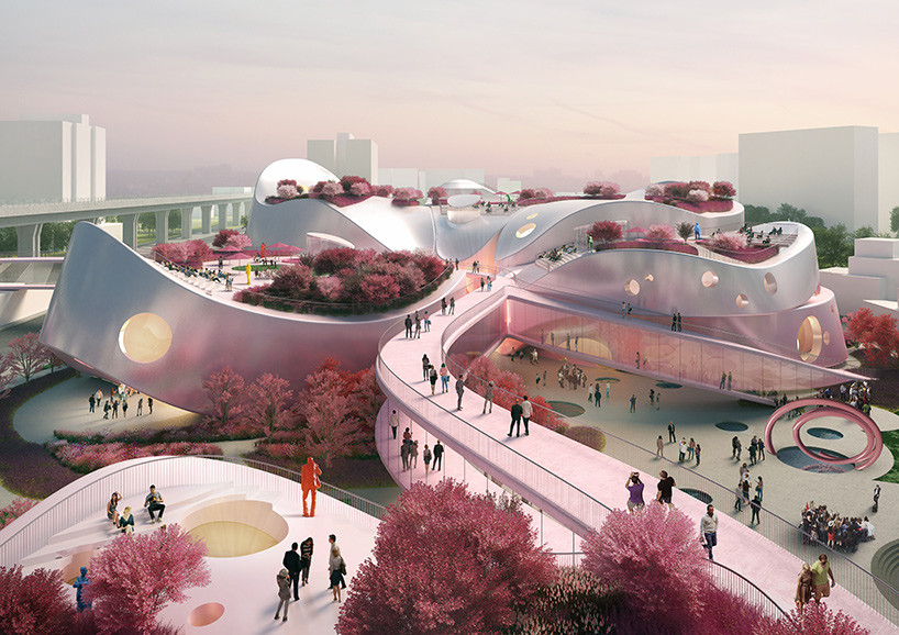 MVRDV với ý tưởng nhuộm hồng Bảo tàng nghệ thuật Taoyuan