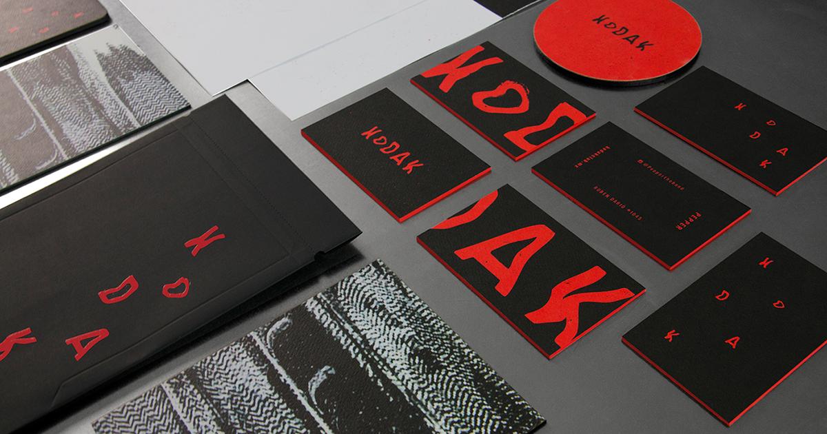 Bộ nhận diện thương hiệu và đồ họa cho Kodak