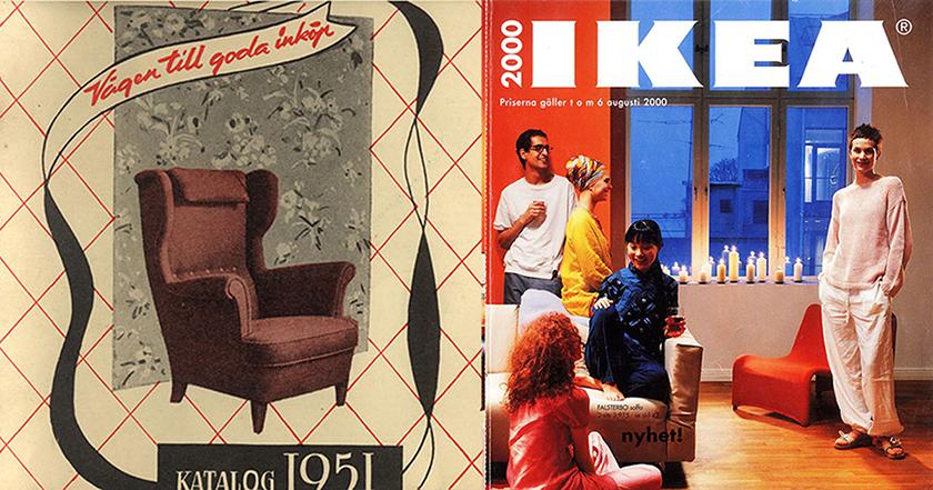 Những mẫu Catalog ấn tượng của IKEA