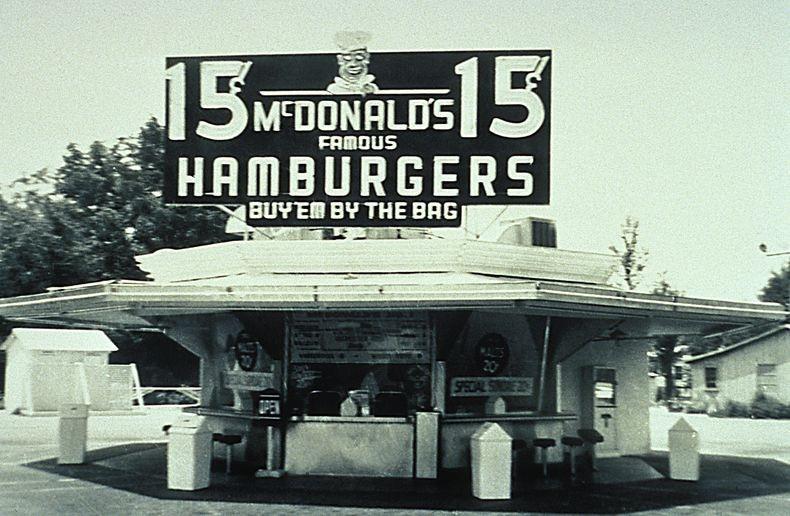 Product design - Định nghĩa từ cửa hàng McDonald's đầu tiên