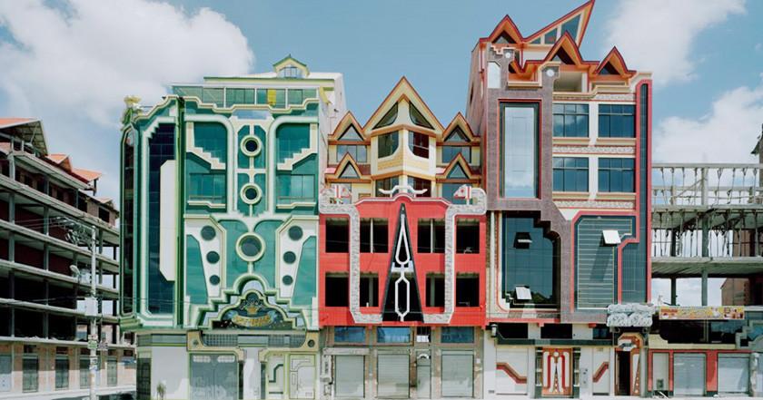 Kiến trúc vị lai đậm tính viễn tưởng ở Bolivia