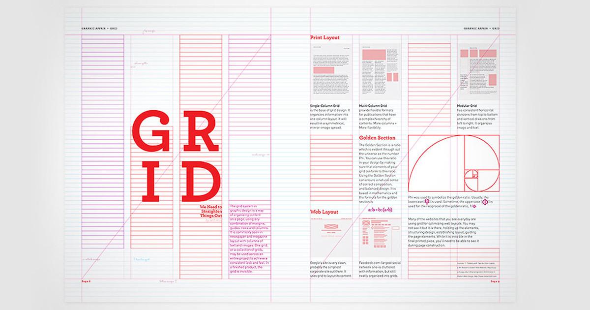 Nguyên lý thiết kế (P1): Guides, gutter và lưới