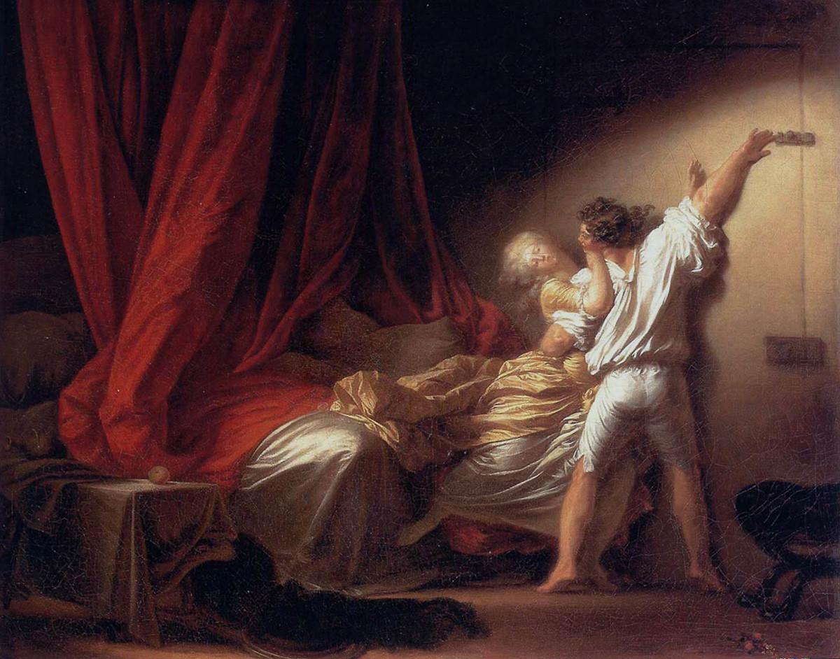 """Một đại diện """"hư hỏng"""" của Rococo: """"Chiếc then cài"""""""