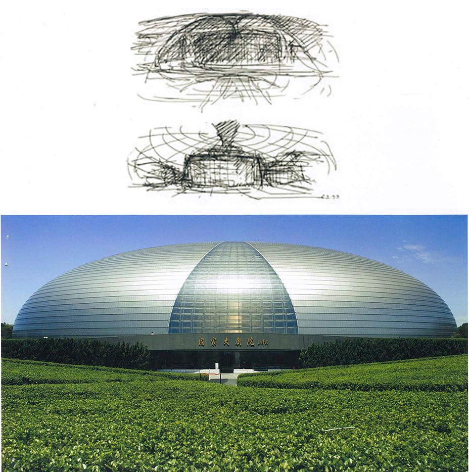 Từ sơ phác đến tác phẩm kiến trúc: Những sơ phác của Moshe Safdie