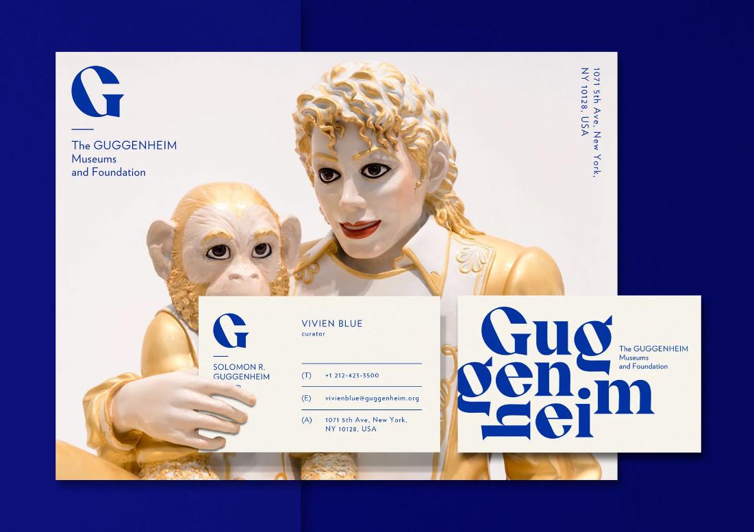 Tái thiết kế nhận diện cho bảo tàng nghệ thuật Guggenheim