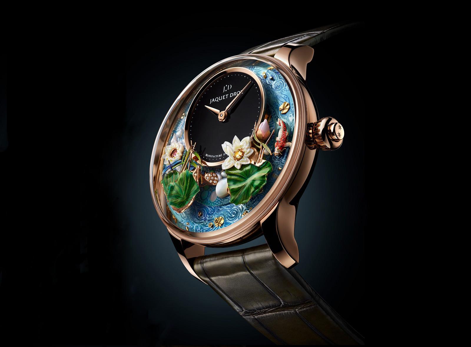 Kiệt tác đồng hồ MAGIC LOTUS AUTOMATON