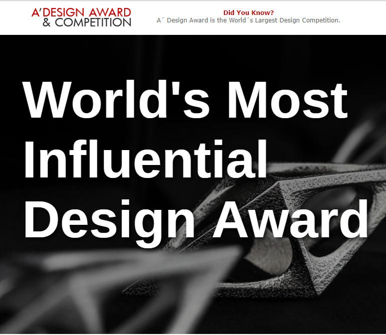 Các tác phẩm chiến thắng A' Design Award năm 2019