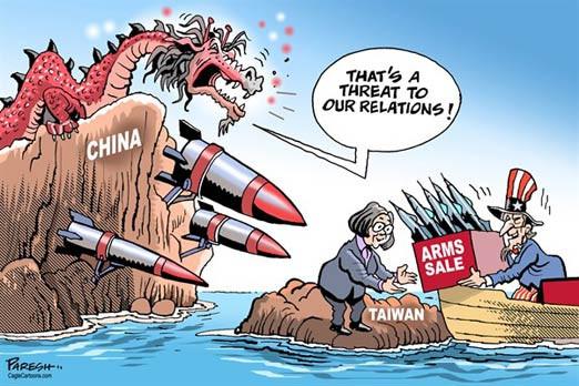 Bầu cử ở Đài Loan qua tranh hí họa