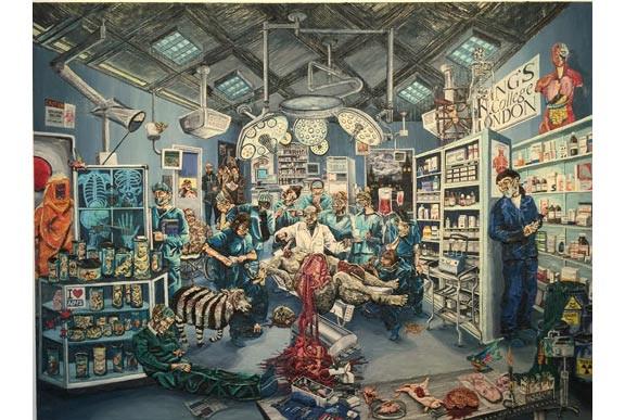 """Henry Hudson: dùng plasticine """"làm"""" tranh hoành tráng"""