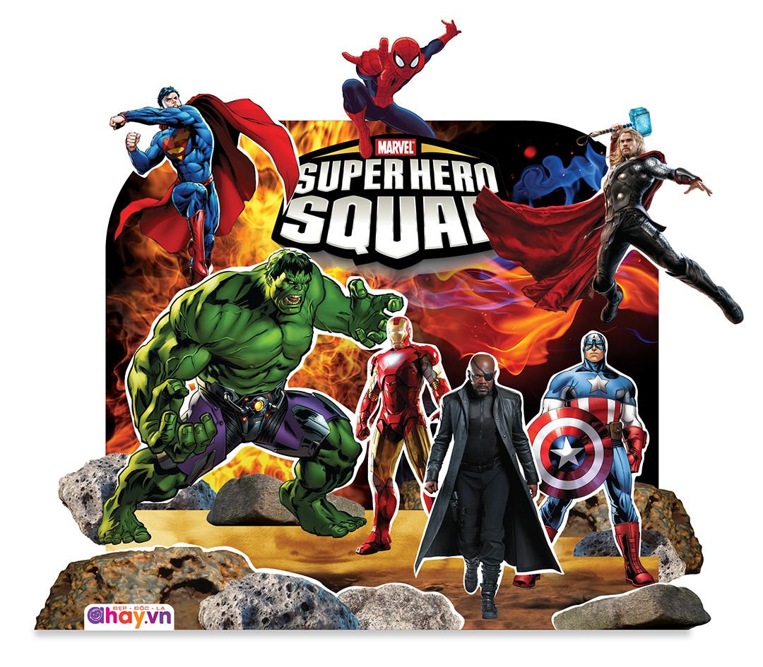 Biệt đội siêu anh hùng - Hoạt cảnh 3D